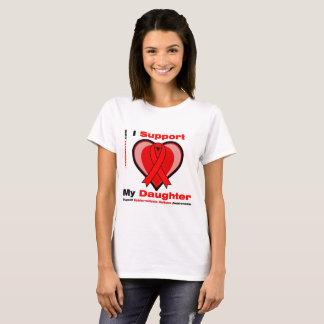 T-shirt Je soutiens ma fille (les épidermolyses bulleuse