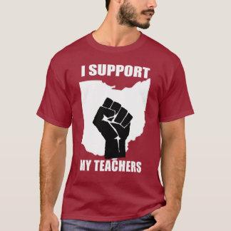 T-shirt Je soutiens mes professeurs