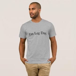 T-shirt Je suis amour de levage de forme physique de