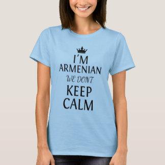 T-shirt je suis arménien