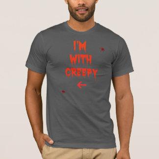 T-shirt Je suis avec déplaisant