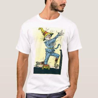 T-shirt Je suis avec des chutes