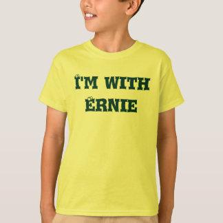 """T-shirt Je suis avec Ernie de """"moi suis avec…"""" collection"""