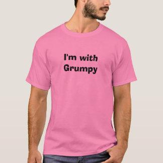 T-shirt Je suis avec grincheux