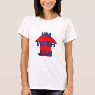 T-shirt Je suis avec janv.
