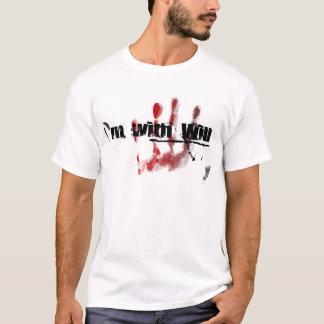 T-shirt Je suis avec la volonté