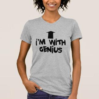 T-shirt Je suis avec le génie