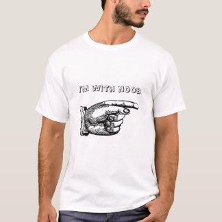 T-shirt Je suis avec le noob