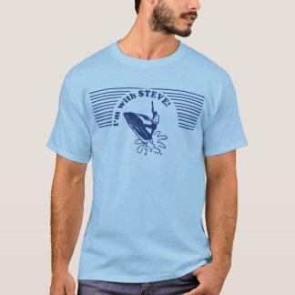 T-shirt Je suis avec le VÉLO STEVE de JET !