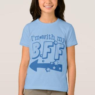 T-shirt Je suis avec mon BFF (est parti)