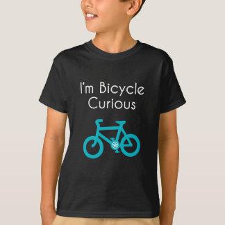T-shirt Je suis bicyclette curieuse