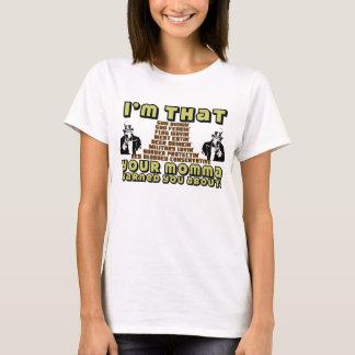 T-shirt Je suis ce conservateur