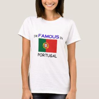 T-shirt Je suis célèbre au PORTUGAL