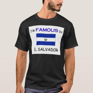 T-shirt Je suis célèbre au SALVADOR