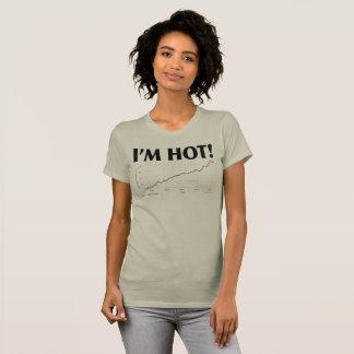 T-shirt Je suis CHAUD ! Taille de mer