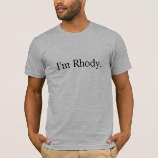T-shirt Je suis chemise de la meilleure qualité de Rhode,