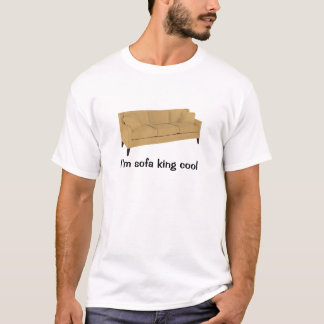 T-shirt Je suis cool de roi de sofa