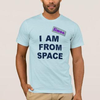 T-shirt Je suis de l'espace