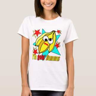 T-shirt Je suis des bananes de Goin