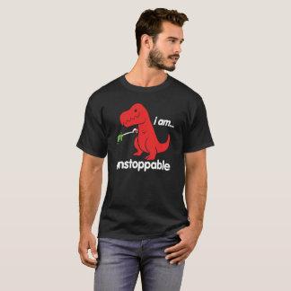 T-shirt Je suis dinosaure triste imparable de T-Rex de