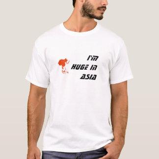 T-shirt je suis énorme dans la chemise de l'Asie