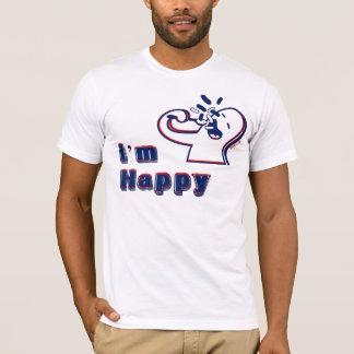 T-shirt Je suis heureux