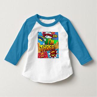 T-shirt Je suis la bande dessinée trois