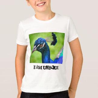 T-shirt Je suis la pièce en t légère de l'enfant unique de