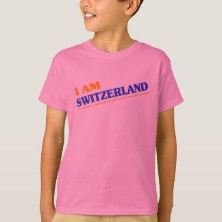 T-shirt Je suis la Suisse