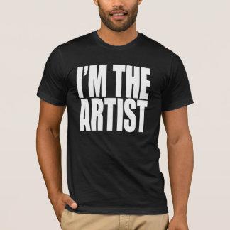 T-shirt Je suis L'ARTISTE