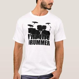T-shirt Je suis le batteur