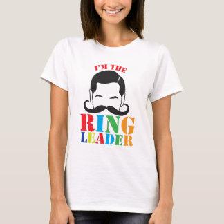 T-shirt Je suis le CHEF d'ANNEAU avec la moustache