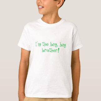 T-shirt Je suis le grand, frère !
