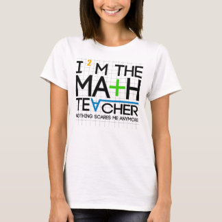 T-shirt Je suis le professeur de maths