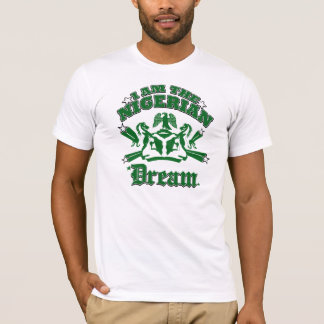 T-shirt Je suis le rêve nigérien