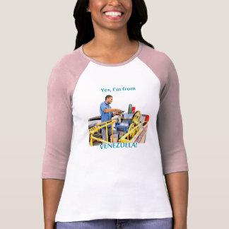 T-shirt Je suis le Venezuela : Guarapo de canne