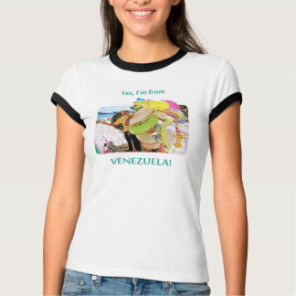 T-shirt Je suis le Venezuela, Morrocoy