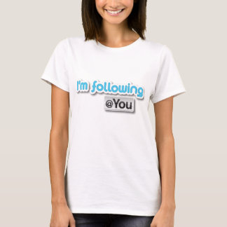 "T-shirt ""Je suis le @you"" (les dames)"