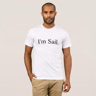 T-shirt Je suis les bateaux à voile de la meilleure