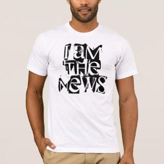 T-shirt Je suis les nouvelles
