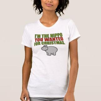 T-shirt Je suis l'hippopotame que vous avez voulu pour