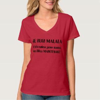 T-shirt Je Suis Malala - L'éducation versent des les