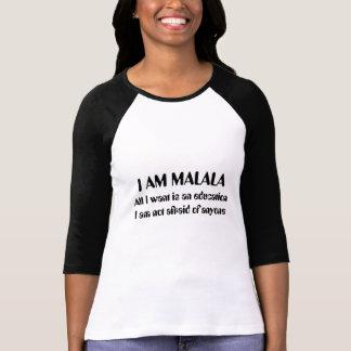 T-shirt Je suis Malala non effrayé de n'importe qui