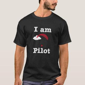 T-shirt Je suis pilote de parapentisme
