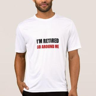 T-shirt Je suis retiré me circule drôle