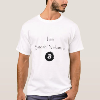 T-shirt Je suis Satoshi Nakamoto