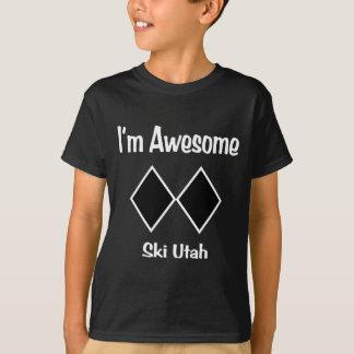 T-shirt Je suis ski impressionnant Utah