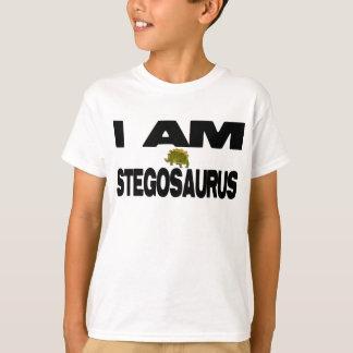 T-shirt Je suis Stegosaurus