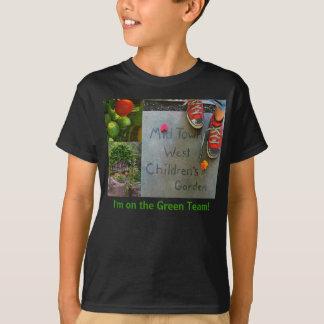 T-shirt Je suis sur l'équipe verte !