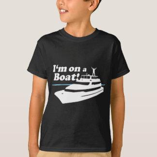T-shirt Je suis sur un bateau